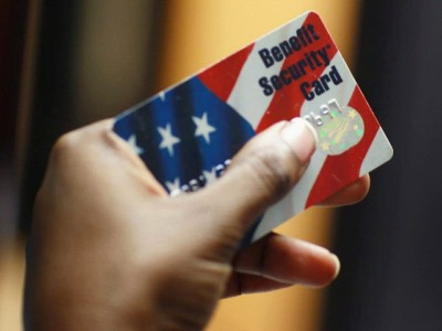 Food Stamp Usage Drops over Half-Million in a Single Month.