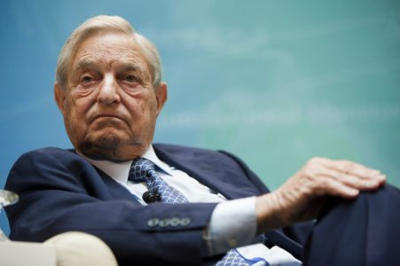 Soros transfers most of his wealth to Open Society Foundations