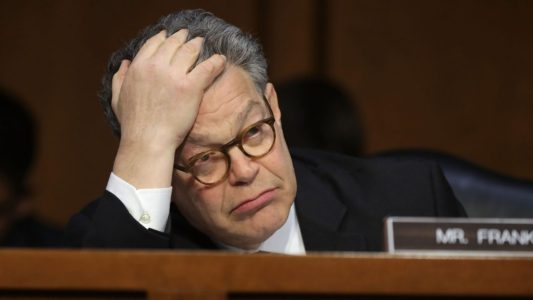 Drudge Report: DNC Chair, 22+ Dem senators call on Al Franken to leave…