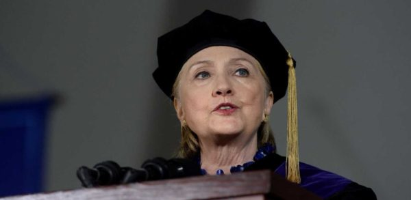 5 Dumbest Things Hillary Clinton Said At Her Wellesley Commencement Address.