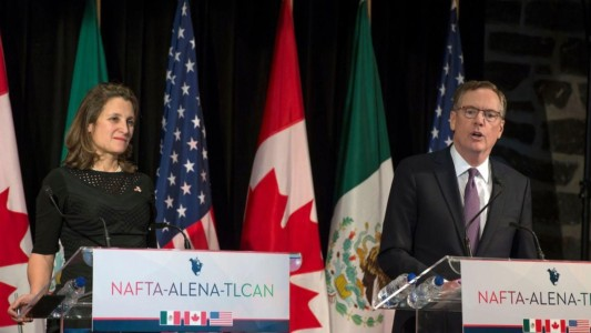 President Trump wants better NAFTA deal or he won't budge on tariffs.