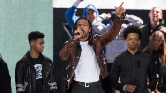 Rapper Who Performed At 'March For Our Lives' Was Arrested Last Year For Carrying A Concealed Weapon.