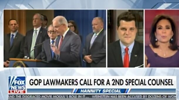 GOP Lawmaker: Jeff Sessions Won't Answer Question at Meetings – Defers to Rosenstein's Aides (VIDEO)