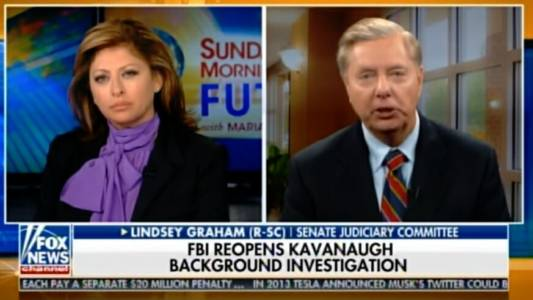 Lindsey Graham Announces Plans to Investigate Democrat Antics and Improper Behavior During Kavanaugh Confirmation Process (Video)
