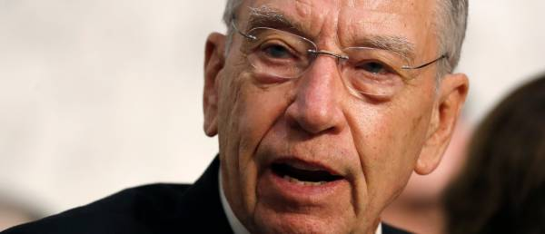 Breaking: Grassley Gives Kavanaugh Accuser More Time To Decide.