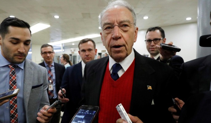 Grassley-Graham Memo Affirms Nunes Memo — Media Yawns