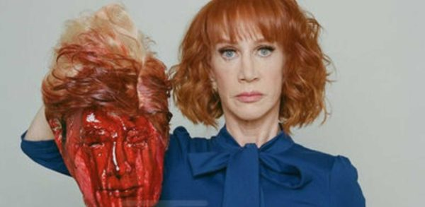 DISGUSTING: Kathy Griffin Holds Up Trump's Bloody, Chopped-Off Head.