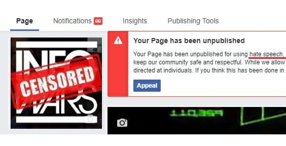 CONFIRMED: Tech Giants Are Colluding Against Conservatives — Infowars Now Banned from Apple, Facebook and Google-YouTube on Same Day.