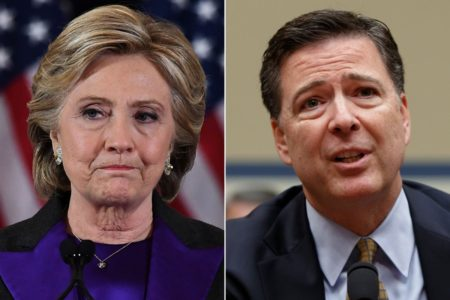 Deafening Silence From Crooked Hillary and Dirty Cop Comey After New DOJ, FBI Investigations Launched.