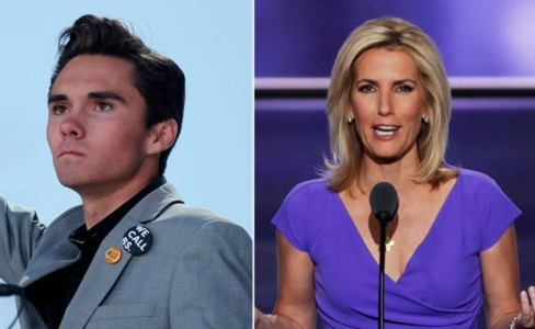 Must-See Moments: Laura Ingraham vs. David Hogg.