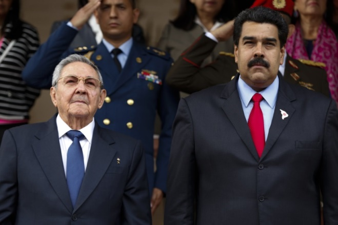 "Image result for ""nicolás maduro and raul castro"""