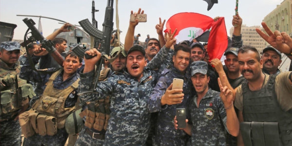 Less Than 1 Year After Trump Took Office, Iraq Declares Victory Over ISIS.