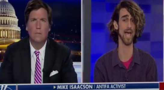 Wow! Antifa Professor Tells Tucker Carlson Antifa Has a Right to Beat Opponents (VIDEO)