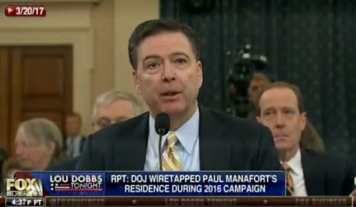 More Comey Lies => James Comey Openly Lies About Deep State Wiretapping Trump Tower (Video)
