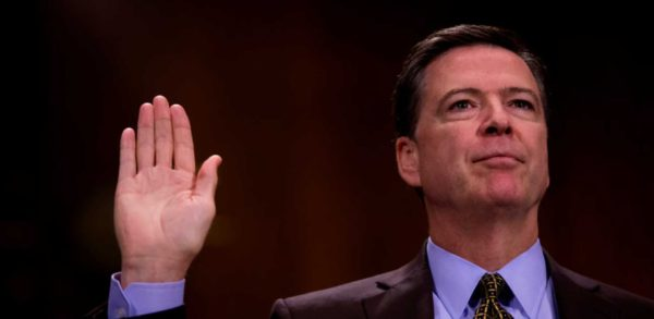 Comey Admitted Under Oath That Obstruction To FBI Probe 'Never Happened'