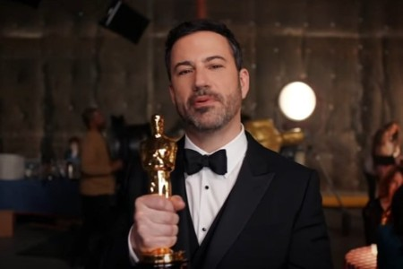 Oscars: Jimmy Kimmel Says Penis-Free Oscar Statue Is Hollywood's Ideal Man.