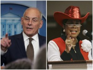 Gen. Kelly Serves: Moving Defense of American Soldiers, Gold Star Families, POTUS.  WH COS: 'Stunned' Rep. Wilson Politicized President's Call  *Must-Watch Video*