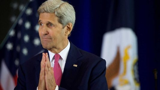 John Kerry Issues Another Huge Lie: Israel Doesn't Want Peace.