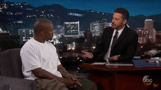 WATCH: Kanye Slams Idea That Blacks Must Vote Democrat On 'Jimmy Kimmel Live'