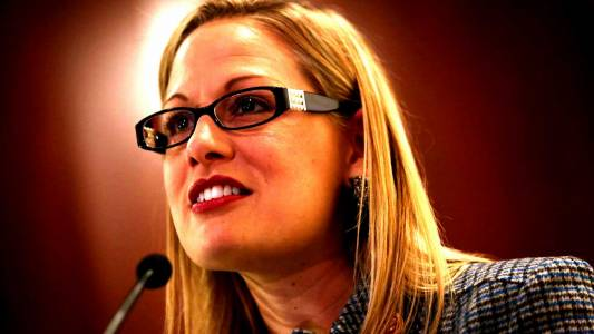 AZ Dem Senate Candidate Kyrsten Sinema Smeared U.S. Soldiers As Being Terrorists In Flyers Distributed By Her Far-Left Activist Group.