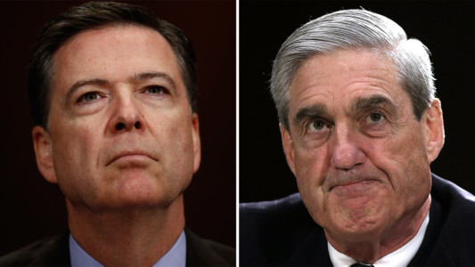 Comey, Fitzgerald, Mueller: Partners in Crime.