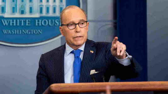 Trudeau 'stabbed us in the back,' did 'a great disservice to the whole G7,' WH economic adviser Larry Kudlow says.