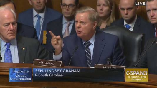 WATCH: Lindsey Graham TEARS Into Democrats For Their Smear Campaign.