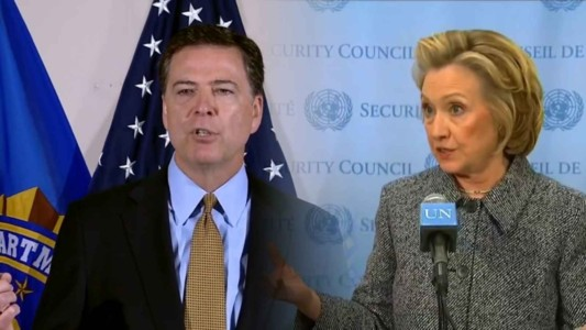 Hillary and Comey Are the Same Person.