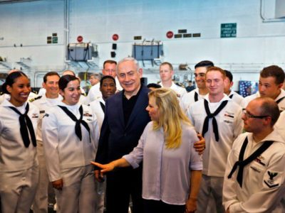 WATCH: 'Happy Birthday, America' – Israel PM Netanyahu Tours USS George H.W. Bush, Hails U.S. Alliance