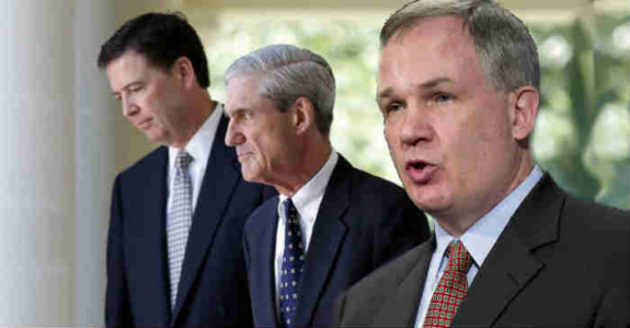 Mueller, Comey & Fitzgerald, The Band's Back Together Again