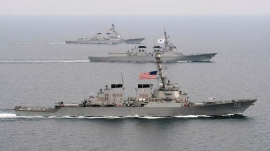 "U.S. Navy Wants to ""Hunt"" Down NK Ships for Strategic Reason"