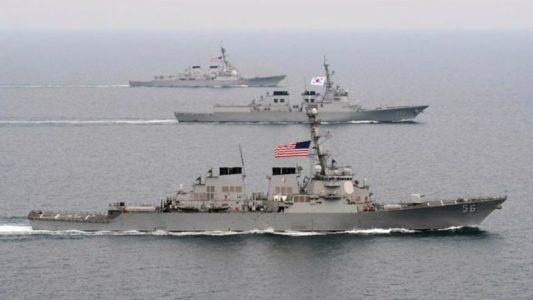"U.S. Navy Wants to ""Hunt"" Down NK Ships for Strategic Reason"