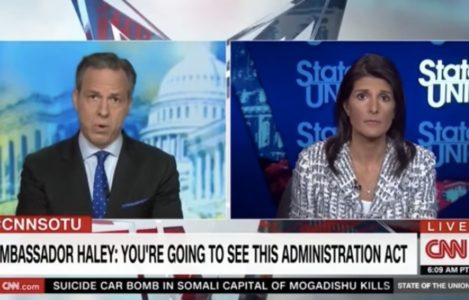 BOOM: Nikki Haley delivers awesome SMACKDOWN to smug CNN over Syria action