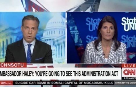 BOOM: Nikki Haley delivers awesome SMACKDOWN to smug CNN over Syria action