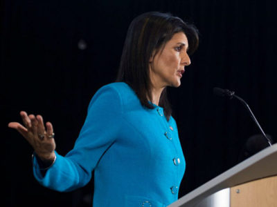 Nikki Haley: 'Most Damning Report Yet' Confirms Iran Is Providing Missiles to Houthis in Yemen.