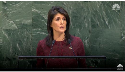 Nikki Haley Takes on UN After Anti-Jerusalem Vote – VIDEO