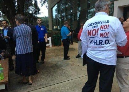 Jacksonville Rallies Mayor to Veto LGBT Law.