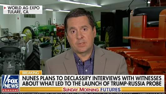 TRUMP FIRES WARNING SHOT AT DEEP STATE: Devin Nunes to Release Depositions from 70 Witnesses Before Election (VIDEO)