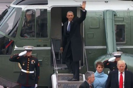 Watch: Former President Obama Finally Says Goodbye, But Not Before Giving One Last Speech