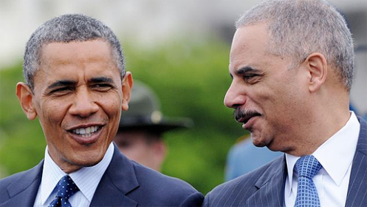 Eric Holder for Prison, Not President.
