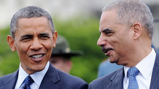 Eric Holder for Prison, Not President.