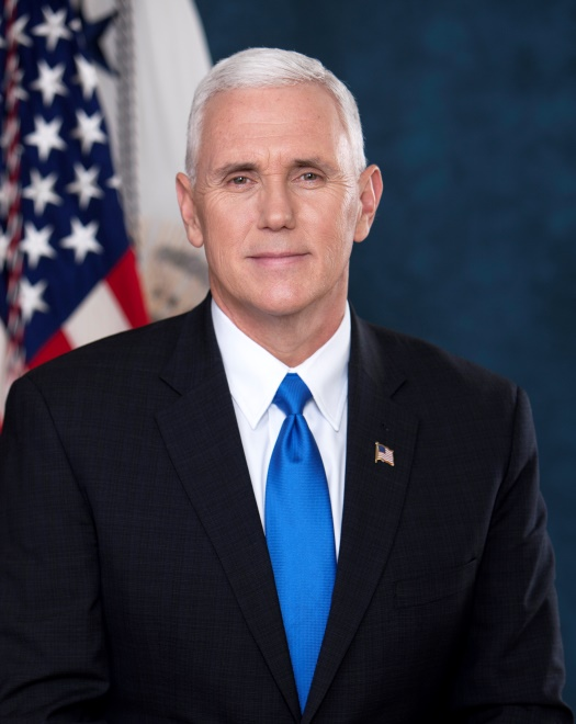 Official portrait for Vice President Mike Pence