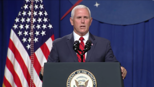Pence To NASA: 'Space Force Will Be A Reality'