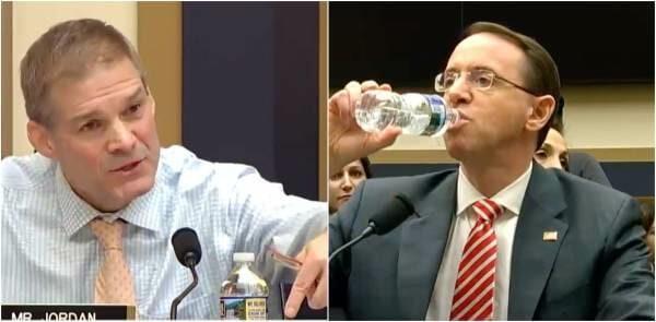 BOOM! Rep. Jim Jordan GOES NUCLEAR On Rod Rosenstein Over-Trump Hating FBI Agent Peter Strzok (VIDEO)