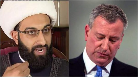 Top Imam Warned NYC Mayor De Blasio About Terror Threats: 'He Did Nothing — Ignored!'
