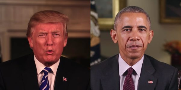 Trump Mentions 'God' 9 Times In Thanksgiving Message – Here's How Many Times Obama Did The Same.