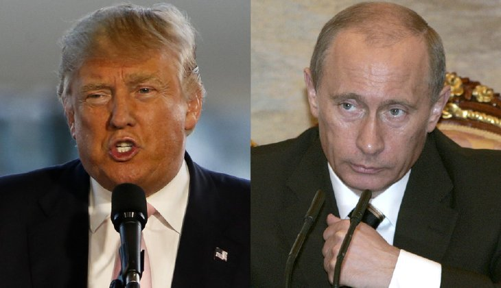 President-elect Trump praised Russian President Vladimir Putin for not expelling any American diplomats in retaliation for President Obama's expulsion of 35 Russians and new sanctions. (AP Photo/RIA Novosti, Presidential Press Service, Vladimir Rodionov)