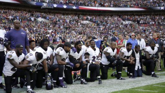 President Trump Defends Veterans Against Kneeling Athletes