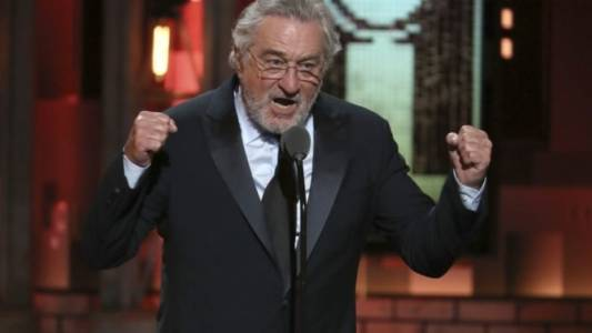 Robert De Niro at the Tony Awards: 'F*ck Trump!'
