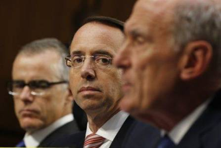 Rod Rosenstein Impeachment Plans Drawn Up: Report